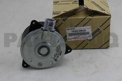 16363-0M010 Cooling Fan Motor For Toyota Corolla 1ZZFE 3ZZFE Vios 1NZFE Camry GR