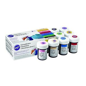 Wilton Icing Colour Concentrated Paste Gel for Food Cake Cup Cupcake ...