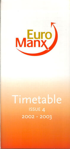 5091 Buy 2 get 1 free Euro Manx system timetable Win 02
