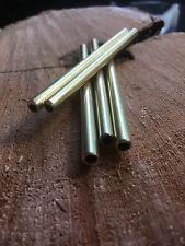 6mm X 100mm 0.5 tubo de latón de pared para cuchillo de mango haciendo escala Cordón Pins