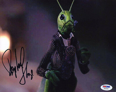 Entertainment Memorabilia Television Raphael Sbarge Signed 8x10 Photo Jiminy Cricket Once Upon A Time Abc Psa/dna High Quality