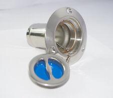Bouchon de Nable WATER en inox Bleu