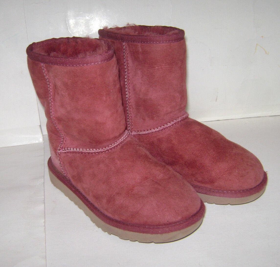 001af7cc1c2 UGG Australia Classic Redwood Sheepskin Girls BOOTS Size 1 - 5251 for sale  online | eBay