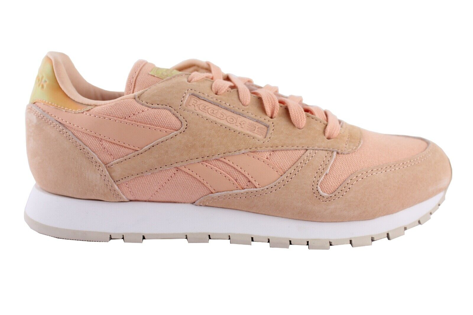 Reebok Classic Leather Trainers shoes Leather Pink V69805 Size 39