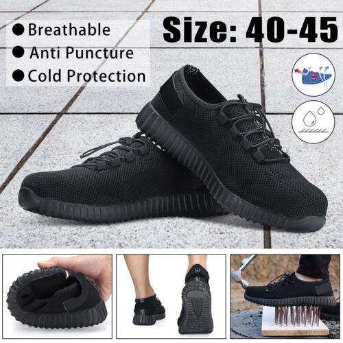 Arbeitsschuhe Mann Sicherheitsschuhe Stahlkappe Schuhe Sport Stiefel