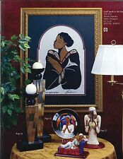 """African American Art """"LORD SPEAK TO MY HEART"""" a Woven Tapestry by Andre Thompson"""
