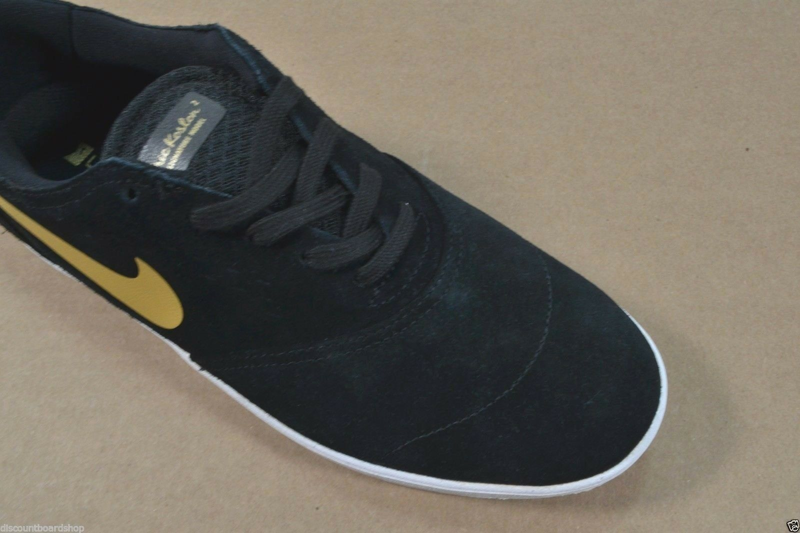 Nike 2 NIKE ERIC KOSTON 2 Nike noir Metallic Gold Discounted Skate (244) homme chaussures dd2910