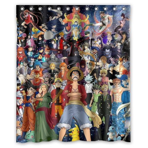 New Custom The Legend of Zelda Wind Waker Bathroom Shower Curtain 60x72 inch
