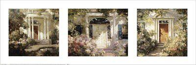 Doorway Trilogy by Abbott Fuller Graves Art Print Poster 36x12