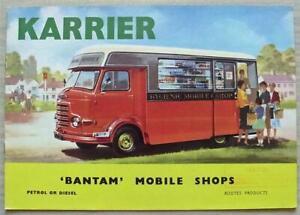 KARRIER BANTAM MOBILE SHOPS Commercial Vehicles Sales Brochure Nov 1961 #1466A