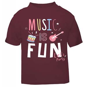 Slogan Tee bébés Cool Kids enfants Cool T Shirt mode Rock band