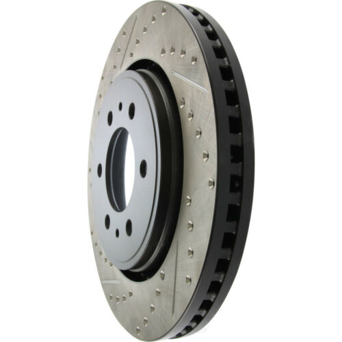 Disc Brake Rotor-Sport Drilled//Slotted Disc Front Right Stoptech 127.65119R
