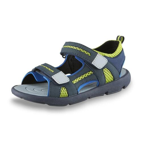 Route 66 Youth Boy/'s Paul Athletic Sport Sandal Grey//Blue #94094* 163H lr NEW