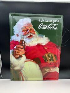 Coca-Cola-Shield-Advertisement-Metal-15-11-16in-Top-Condition