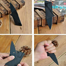 Portable Outdoor Camping Hiking Credit Card Safety Self Defense Folding Knife