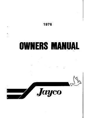1976 Jayco Jay Warbler RAven Queen Crane Sportster Popup Trailer Owners Manual EBay