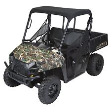 QUADGEAR POLARIS RANGER MIDSIZE 400 500 570 800 UTV BLACK BIMINI SOFT ROOF TOP