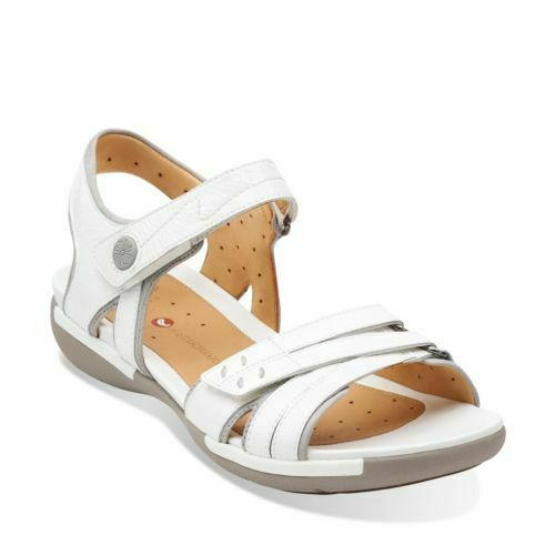 Clark's Women  Un Vasha - - - White Patent Sandal , Extra Soft Sole  UK 5.5 D 6ac0ad