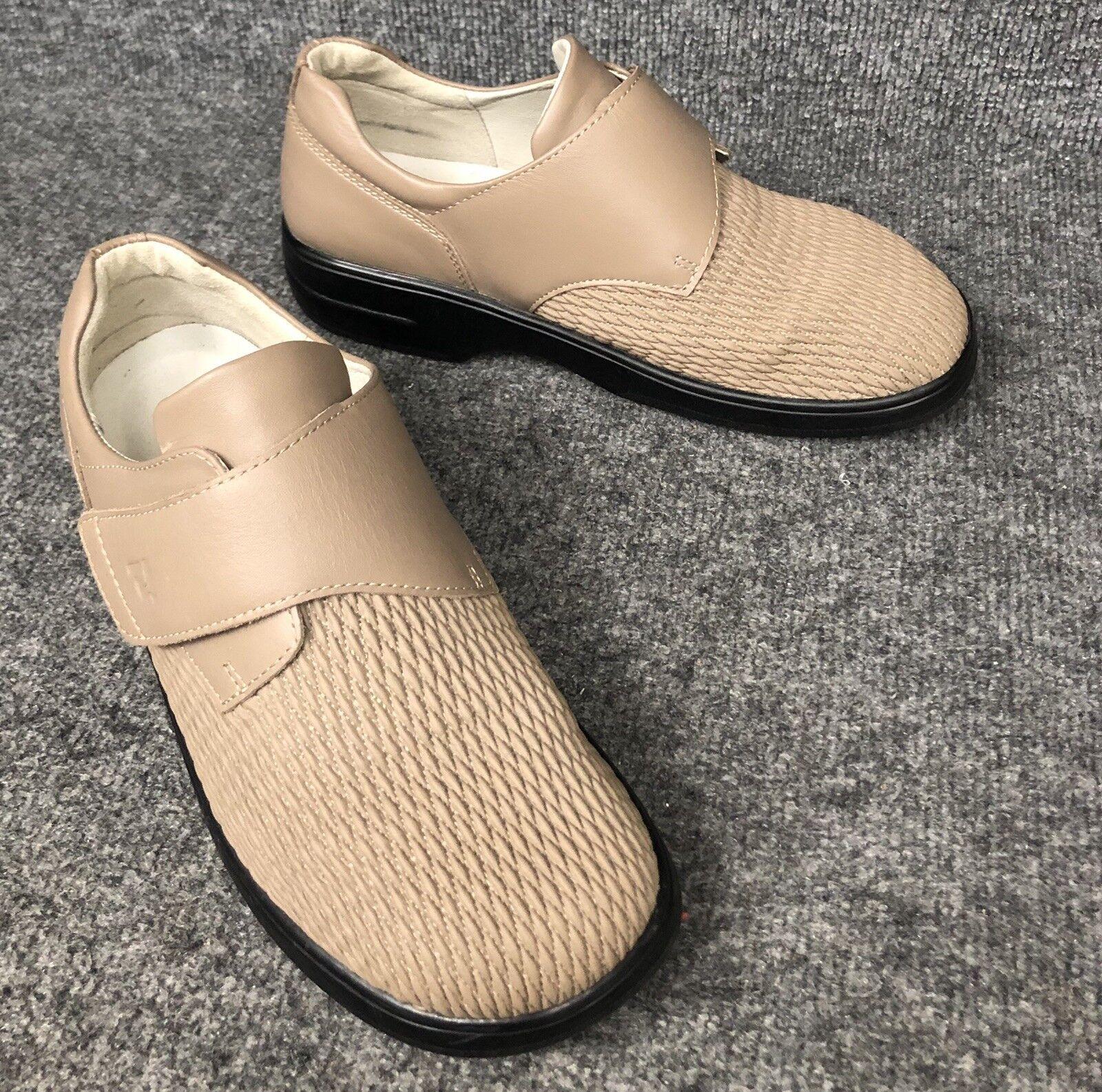 PROPET WPRX25 Walking Diabetic Orthotic Strap shoes Womens US 9 X (2E) In EUC