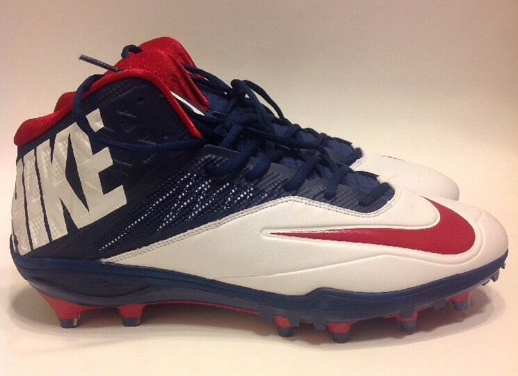 Casual wild Nike Zoom Code Elite TD Football Cleat 620499-413 Red White Blue Comfortable