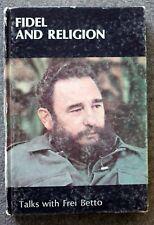 1987 FIDEL CASTRO AND RELIGION Cuba CUBAN Frei Betto HAVANA Habana RUZ Council