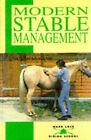Modern Stable Management by Susan McBane (Paperback, 1998)