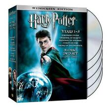 Harry Potter Years 1-5 (DVD, 2008, 5-Disc Set, Widescreen) Factory Sealed.