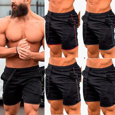 Men/'s Fitness Sports Shorts Football Gym Workout Training Running Jogging Pants