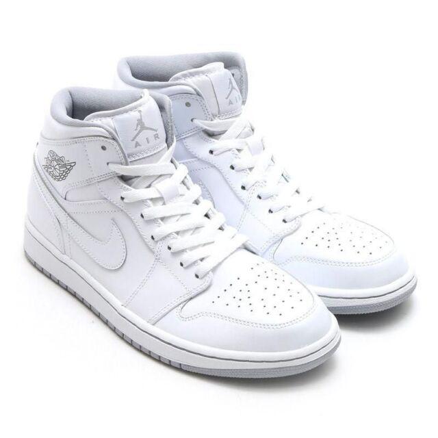 Air Jordan 1 One Mid 554724-112 White