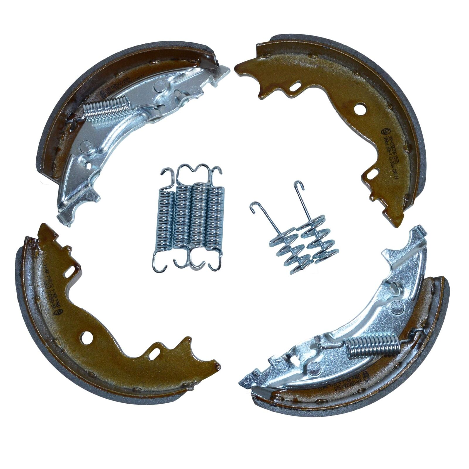 Trailer Brake shoes Replacements Spring Kit 160 x 35mm For KNOTT Brian James