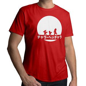 Anime-Master-Roshi-Training-Young-Goku-Krillin-Mens-Cotton-T-Shirt-Size-XL