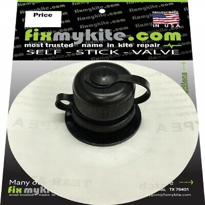 Details about  /Cabrinha Replacement Airlock 2 Valve for 2014*2020 w//hook /& Loop FixMyKite New