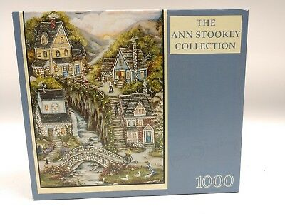 Ann Stookey Collection 1000 Piece Puzzle South Mountain Village Rose Art 2003