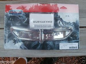 Kuryakyn-Chrome-L-E-D-Fairing-Vent-Accent-p-n-5053-039-14-amp-Up-Glides-NEW
