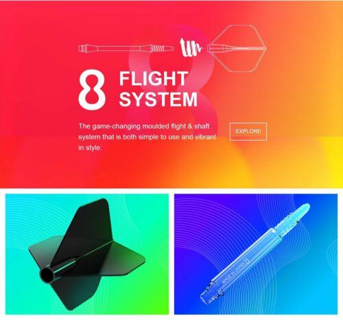 8 FLIGHT DART FLIGHTS NO 6 SHAPE
