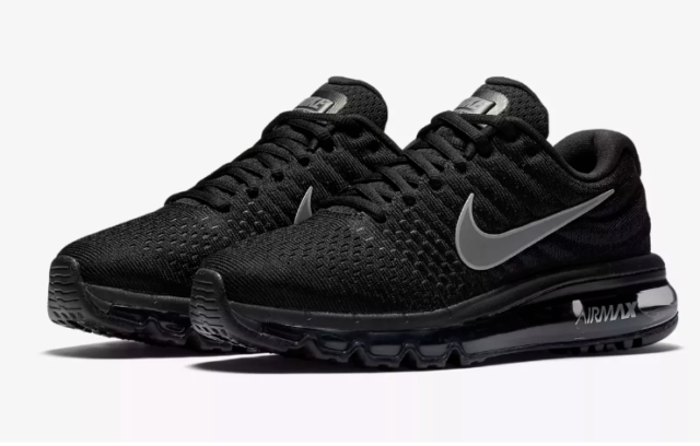 WMNS Nike Air Max 2017 Black White Women Running Shoes SNEAKERS 360 849560 001 9