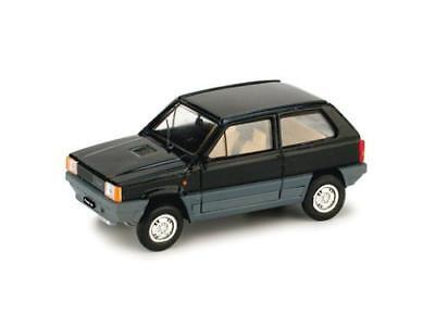 Fiat Panda 30 1980 Nero 1:43 Brumm R386-06 Modellino Auto Diecast