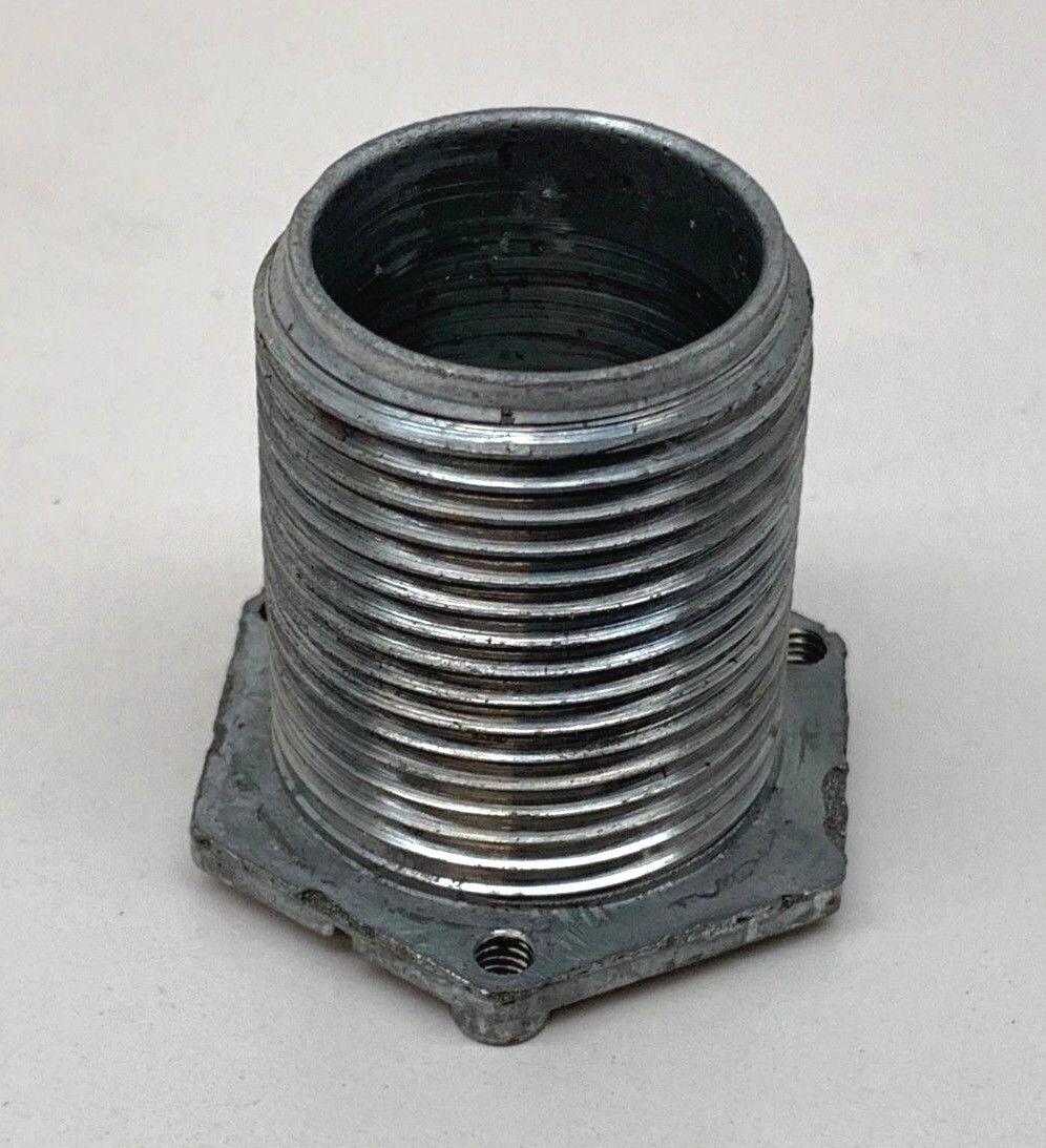 (10-Pack) Wiremold Walker 1124L-1 Underfloor Raceway Locking Nipple 1-1/2