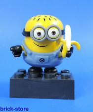 MEGA BLOCKS MINIONS SERIE 1 / FIGUR (Nr.2) Mike Minion mit Banane
