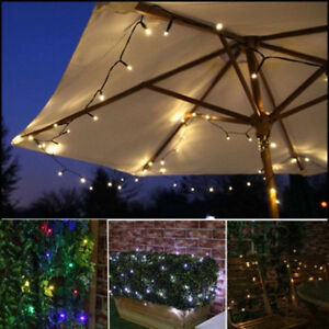 22m 200 led guirlande solaire lampe eclairage d co no l. Black Bedroom Furniture Sets. Home Design Ideas