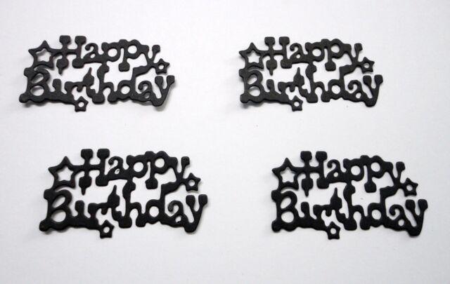 Happy Birthday Die Cut - Pkt 10