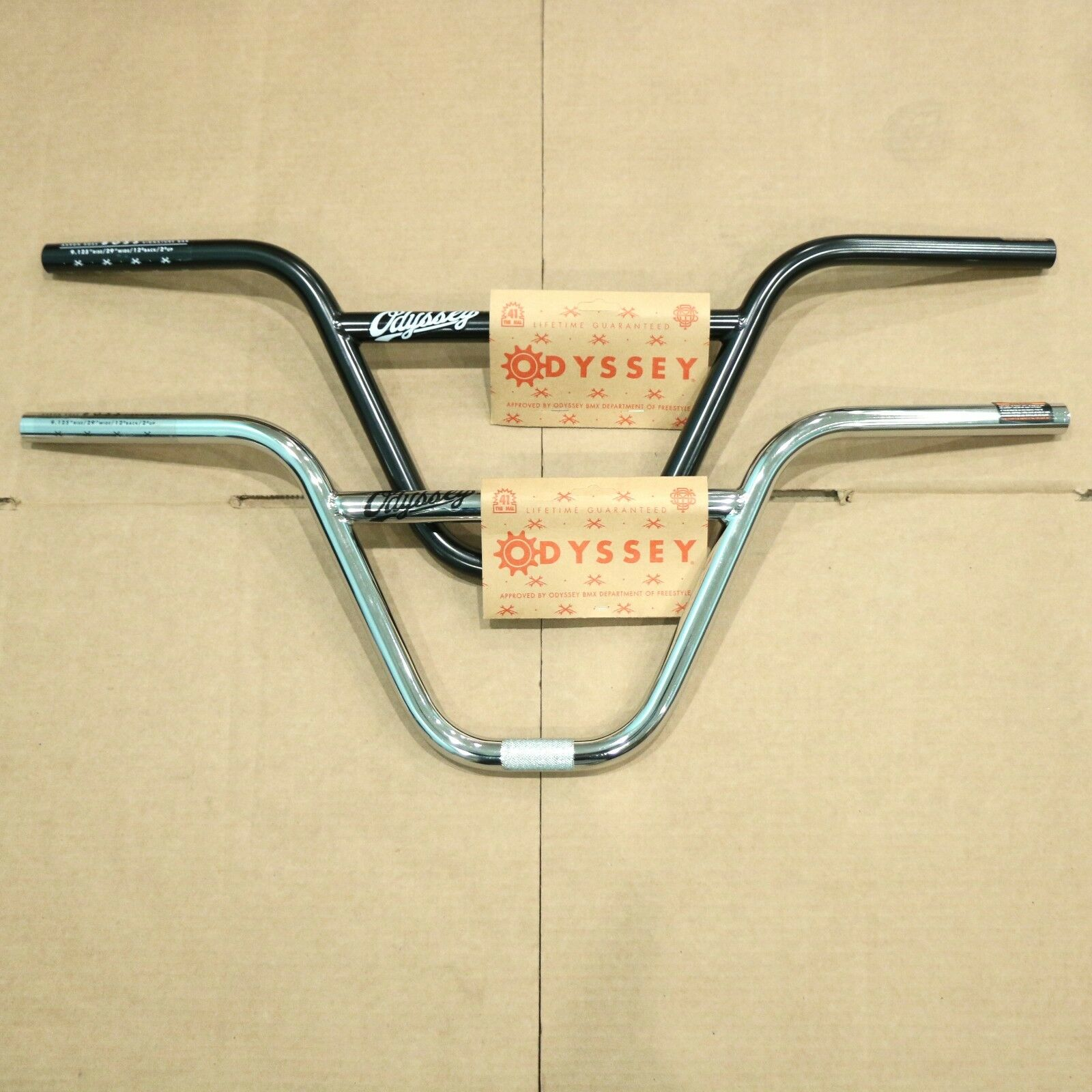 ODYSSEY BMX BIKE BOSS HANDLEBAR 9.125  RISE BARS AARON ROSS PRIMO SUNDAY