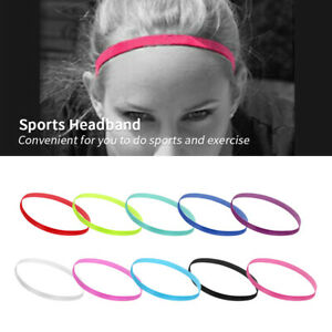 Women Man Yoga Sports Gym Stretch Headband Hair Rope Elastic Band