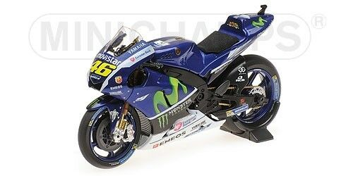 YAMAHA YZR-M1   MOVISTAR  TEST   VALENTINO ROSSI    2016   MINICHAMPS   1/18 | Outlet Store