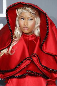 Nicki Minaj 11x17 Mini Poster With Blonde Hair Red Dress Ebay