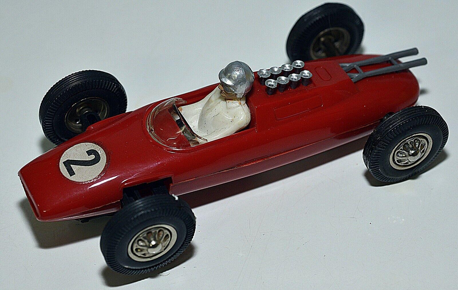 Carrera-Universal-132-Lotus Climax rot glänzend SV 3, Nr. 40402 Vitrinenfahrzeug