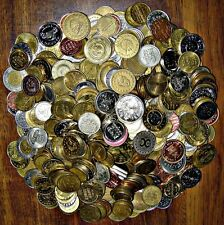 5 Pound Token Lot:  Mostly Modern Arcade, Car Wash, etc (Free Shipping in USA)
