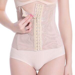 Women-Waist-Cincher-Belly-Control-Corset-Trainer-Body-Shaper-Postnatal-Shapewear