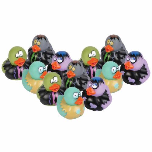 2 inch Rhode Island Novelty Rubber Ducks 1 Dozen ZOMBIE DUCKS - New