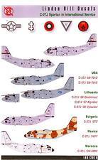 Linden Hill Decals 1/72 ALENIA C-27J SPARTAN IN INTERNATIONAL SERVICE